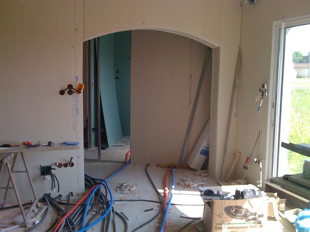 Tag Placo Notre Construction Sur Peyssies # Faire Des Arches Avec Du Placoplatre